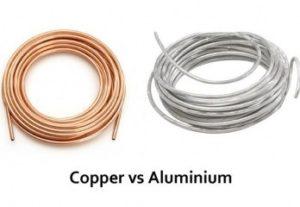 Copper Aluminum Coil Comparison AC